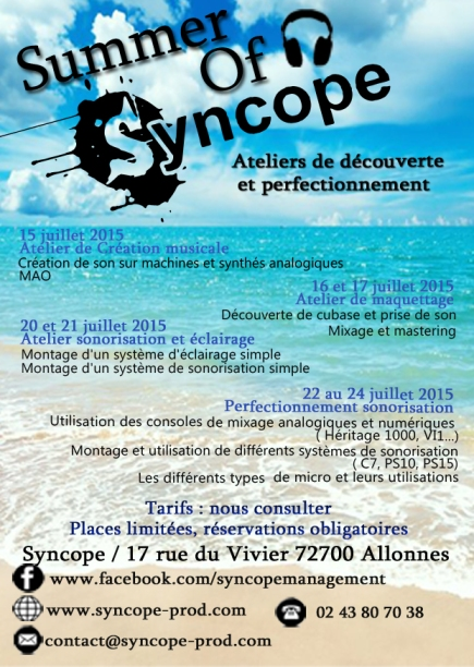 affiche Summer Syncope_A6