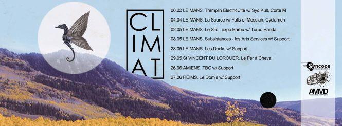 CLIMAT ON TOUR 2015