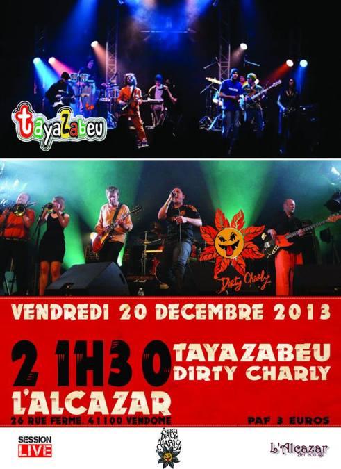 Concert à l'Alcazar - Vendome le 20-12-13