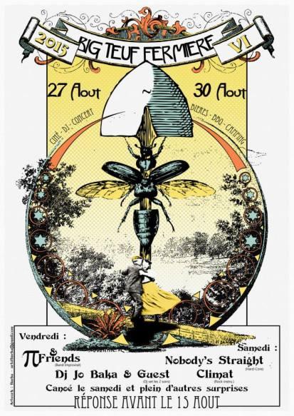 Big Teuf fermière - Genest saint isle 28.08.2015